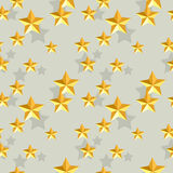 Seamless stars pattern Stock Photography