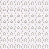 Seamless stars pattern. Pattern stars on a light background Stock Images