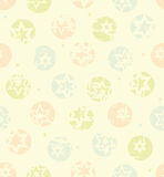 Seamless stars pattern Royalty Free Stock Images