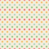 Seamless stars pattern Stock Images