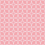 Seamless Stars Pattern Vector. Seamless Star Pattern. Seamless pattern with stars. Vector illustration. All in a single layer. Seamless pink star pattern Royalty Free Stock Photos