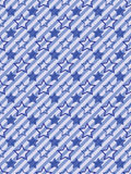 Seamless stars and stripes pattern Stock Photography
