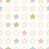 Seamless stars symbol pattern Stock Photography