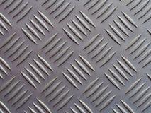 Seamless steel diamond plate background texture Stock Image
