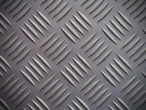 Seamless steel diamond plate background texture Stock Image
