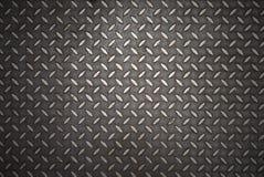 Seamless steel diamond plate Stock Image