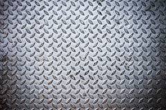 Seamless steel diamond plate texture Stock Photography