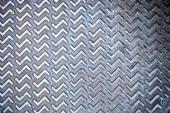 Seamless steel diamond plate texture Royalty Free Stock Photography