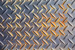 Seamless steel diamond plate texture Stock Image
