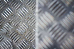 Seamless steel diamond plate texture Royalty Free Stock Image
