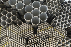 Seamless steel tubes Royalty Free Stock Photography