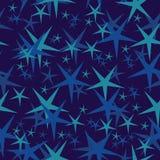 seamless stjärnor stock illustrationer