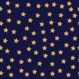 seamless stjärnor för bakgrund Royaltyfria Foton