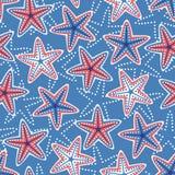 seamless stjärnor för modell Royaltyfria Foton