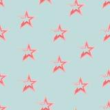 seamless stjärnor för modell Fotografering för Bildbyråer