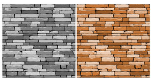 Seamless stone background Stock Photography