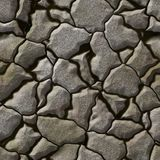 Seamless stone generated hires texture Royalty Free Stock Photo