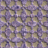 Seamless: Stone grate texture royalty free stock photography