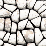 Seamless stone pattern Stock Images