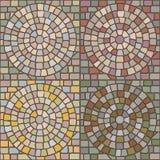Seamless stone patterns Stock Photography