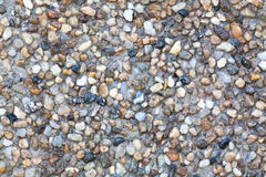 Seamless Stone Pebble Texture Stock Photography