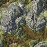 Seamless Stone Terrain Background Royalty Free Stock Photography