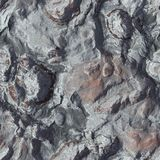 Seamless Stone Terrain Background Royalty Free Stock Images