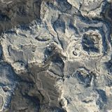 Seamless Stone Terrain Background Royalty Free Stock Image
