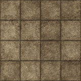 Seamless stone tiles Royalty Free Stock Image