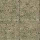 Seamless stone tiles Stock Image