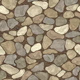 Seamless stone wall. Abstract seamless stone wall background vector illustration