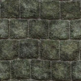 Seamless stone wall background Stock Images