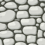 Seamless stones pattern Stock Photography