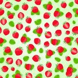 Seamless strawberry pattern Stock Photo