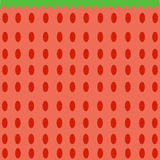 Seamless Strawberry Pattern Vector Stock Photo