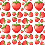 Seamless strawberry Royalty Free Stock Image