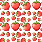 Seamless strawberry Royalty Free Stock Image