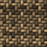 Seamless StrawMat Texture Stock Photo
