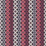 Seamless strip chain pattern Stock Photos