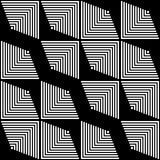 189-8. Seamless Stripe and Line Pattern. Vector Black and White Texture vector illustration