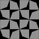 189-6. Seamless Stripe and Line Pattern. Vector Black and White Texture vector illustration