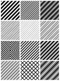 Seamless stripe pattern Royalty Free Stock Photos