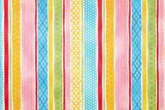 Seamless stripe pattern background. Seamless colorful background of stripe pattern Stock Image