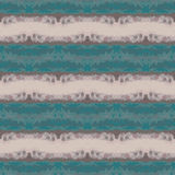 Seamless striped abstract blue and beige pattern stock illustration