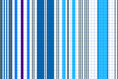 Seamless striped blue pattern royalty free stock photos