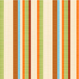 Seamless striped fabric pattern. Easy tilable (you see 4 tiles) striped seamless repeat pattern with fabric texture visible. Flat colors used, threads accurately royalty free illustration
