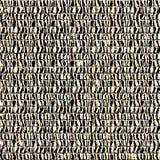 Seamless striped frame Stock Image