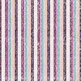 Seamless striped geometric pattern. Textile ornament for T-shirt Royalty Free Stock Photography