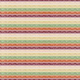 Seamless striped geometric pattern. Textile ornament for T-shirt Stock Photo