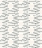 Seamless striped geometric weaving pattern. Royalty Free Stock Photos